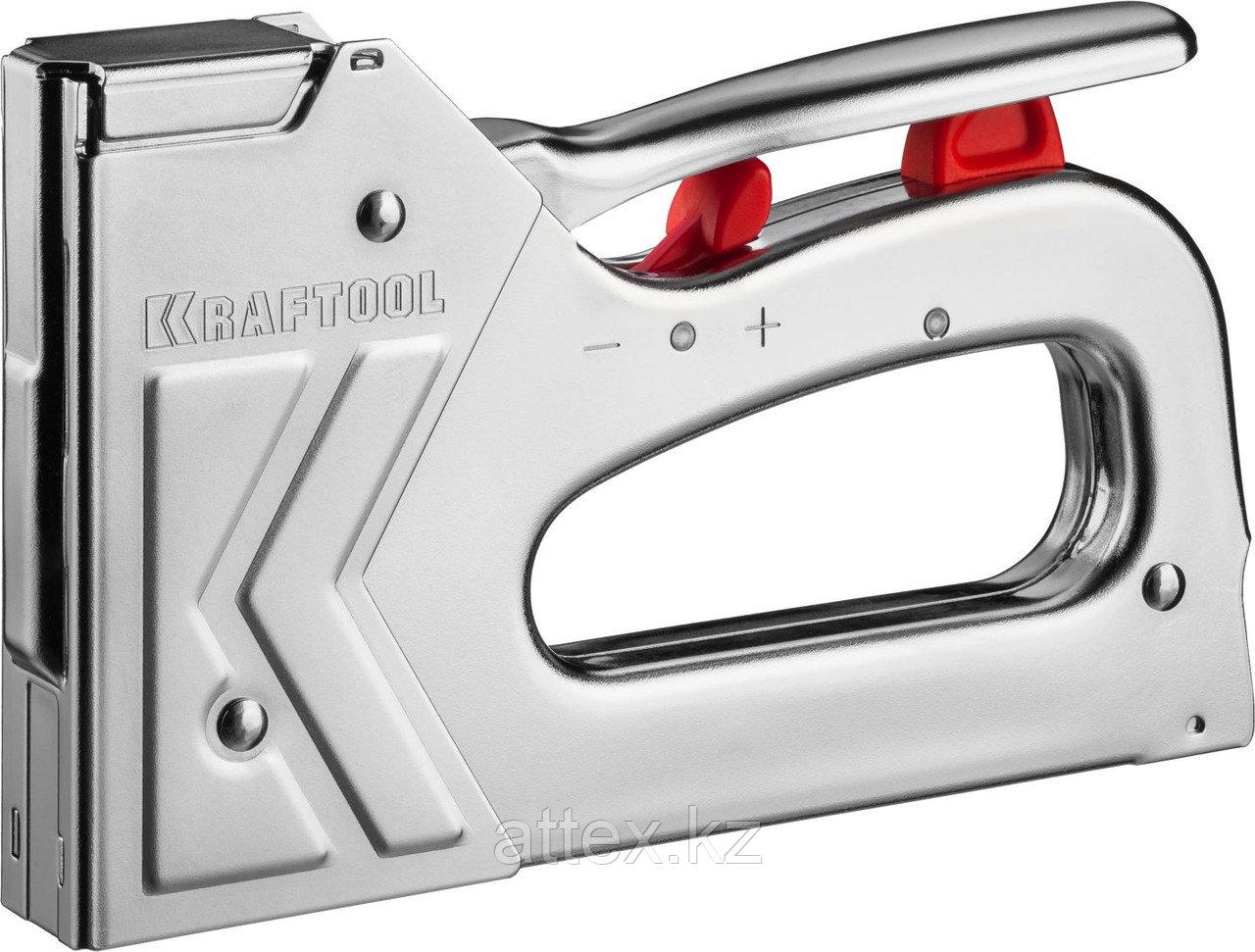 "Степлер для скоб ""K7-A"" 3-в-1: тип 53 (6-16 мм) / 300 (16 мм) / 500 (16 мм), KRAFTOOL, 3180"