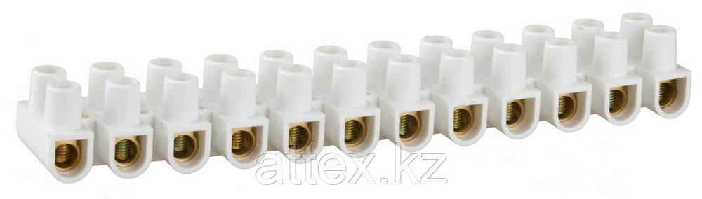 Колодки зажимные винтовые (КЗВ), макс. ток 60А, сечение подкл. проводов 25мм2  49150-25