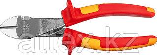 """Бокорезы """"ELECTRO-KRAFT"""" усиленные, Cr-Mo сталь, двухкомпонентная маслобензостойкая рукоятка, хромир  2202-6-18_z01"""