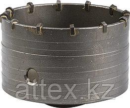 Коронка ЗУБР буровая кольцевая, по бетону, без державки, 100мм 29180-100