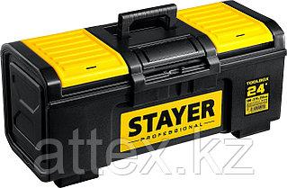 """Ящик для инструмента """"TOOLBOX-24"""" пластиковый, STAYER Professional 38167-24"""