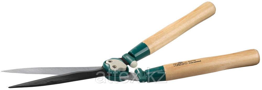 Кусторез RACO с волнообразными лезвиями и дубовыми ручками, 550мм 4210-53/206