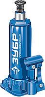 Домкрат гидравлический бутылочный T50, 6т, 215-415мм, в кейсе, ЗУБР Профессионал 43060-6-K  43060-6-K_z01