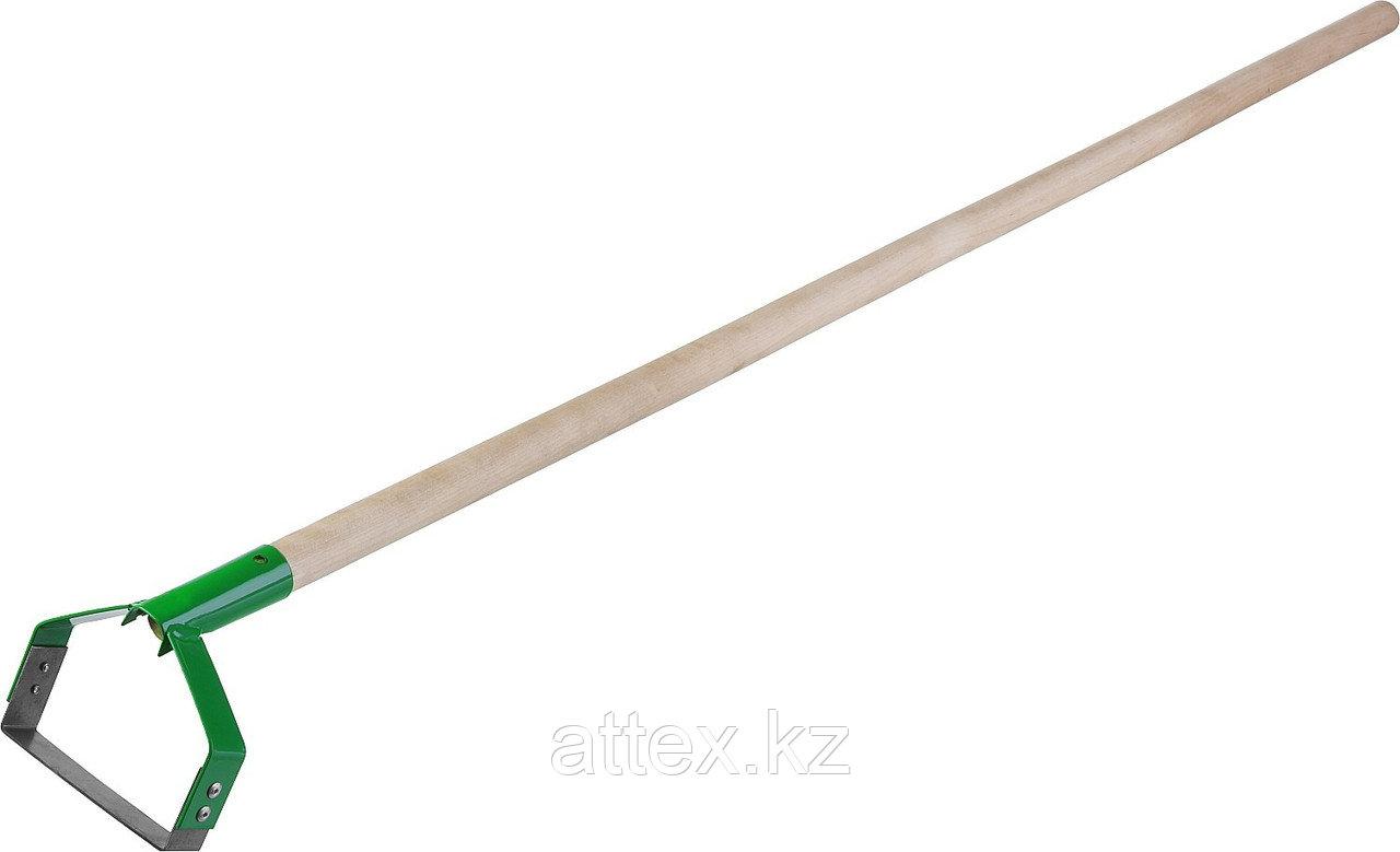 Полольник петлеобразный с черенком, РОСТОК 421587, рабочая часть 115x24x1300мм