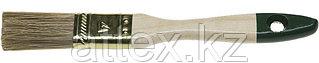 """Кисть плоская STAYER """"LASUR-STANDARD"""", смешанная (натуральная и искусственная) щетина, деревянная ручка, 25мм 01031-25"""