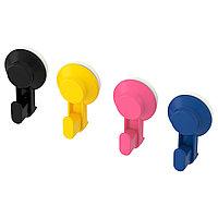 Крючок с присоской ТИСКЕН 4 шт. разные цвета ИКЕА, IKEA