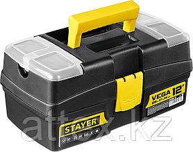 """Ящик для инструмента """"VEGA-12"""" пластиковый, STAYER  38105-13_z03"""