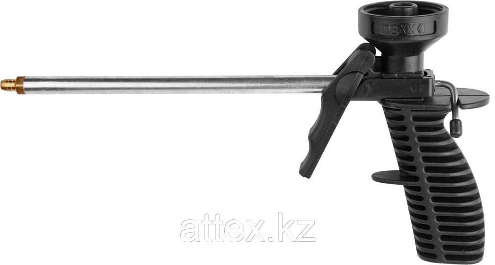 Пистолет DEXX для монтажной пены, пластмассовый корпус 06869