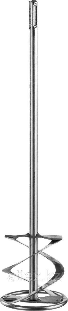 """Миксер ЗУБР """"ПРОФЕССИОНАЛ"""" для красок оцинкованный, SDS+ хвостовик, на подвеске, 80x400мм Зубр 06036-08-40"""