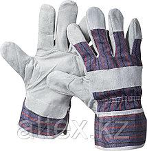 """Перчатки STAYER """"MASTER"""" рабочие комбинированные кожаные из спилка, XL 1130-XL"""