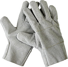 Перчатки СИБИН рабочие кожаные, из спилка, XL 1134-XL