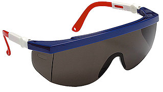Очки STAYER защитные с регулируемыми по длине и углу наклона дужками, поликарбонатные затемненные линзы 2-110483
