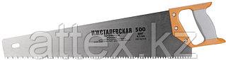 """Ножовка """"ИЖ"""" """"ПРЕМИУМ"""" по дереву с двухкомпонентной пластиковой рукояткой, шаг 6,5мм, 500мм  1520-50-06_z01"""