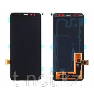 Дисплей Samsung Galaxy A8 (2018) SM-A530 Сервис Оригинал с сенсором, цвет черный