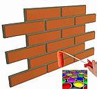 """Фасадная облицовочная бетонная, армированная панель - """"облицовочный кирпич"""", фото 5"""