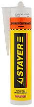 """Герметик STAYER """"MASTER"""" универсальный, силиконовый, белый, 260мл  41213-0_z01"""
