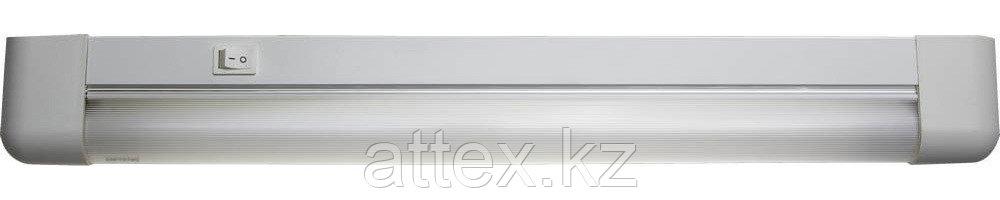"""Светильник люминесцентный СВЕТОЗАР модель """"СЛ-615"""" с плафоном и выключателем, лампа Т8, 490x35x62мм,  SV-57589-15"""