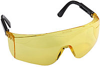 Очки STAYER защитные с регулируемыми дужками, желтые 2-110465