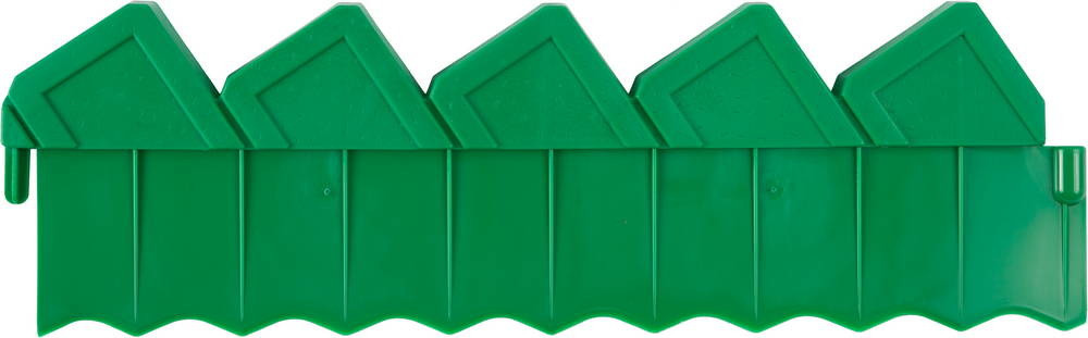 Ограждение для клумб, GRINDA 8-422304, 288см, цвет зеленый  8-422304_z01