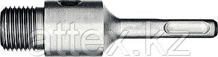 Державка ЗУБР для бур коронки с хвостовиком SDS Plus, L-100мм,резьба М22,конусное крепление центрир  29187-100_z01