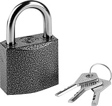 Замок навесной, дисковый механизм секрета, ВС2-49 РОССИЯ 37220-49