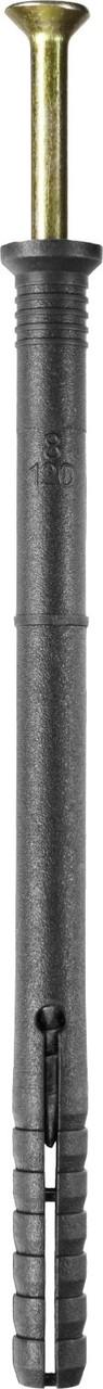 Дюбель-гвоздь полипропиленовый, потайный бортик, 8 x 120 мм, 50 шт, STAYER Master 30645-08-120