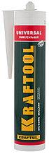 Герметик силиконовый KRAFTOOL прозрачный, универсальный, 300мл 41253-2