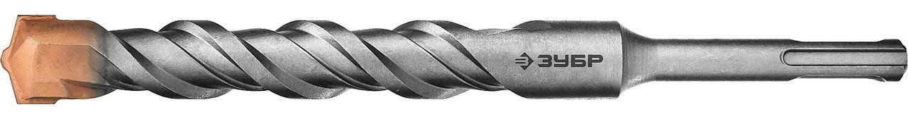 "Бур ЗУБР ""ПРОФЕССИОНАЛ"" по бетону, хвостовик ""SDS-Plus"", самоцентрирующий наконечник, спиральS4, 18х  29314-200-18_z01"