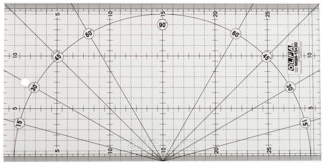 Линейка OLFA разметочная, метрическая, 150х300мм OL-MQR-15x30