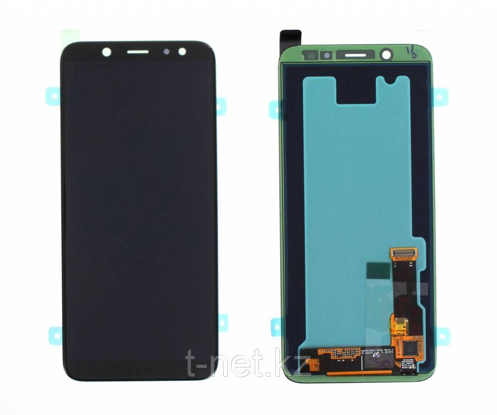 Дисплей Samsung Galaxy A6 (2018) SM-A600 Сервис Оригинал с сенсором, цвет черный