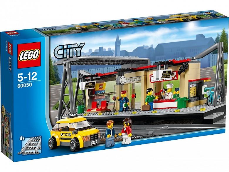 60050 Lego City Железнодорожная станция, Лего Город Сити