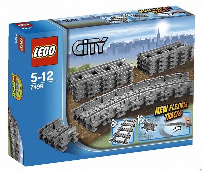 7499 Lego City Гибкие пути, Лего Город Сити