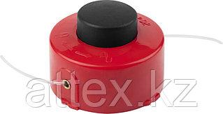 """Катушка для триммера, ЗУБР 70115-1.6, с леской """"круг"""", полуавтомат, для ЗТЭ-350, макс. диаметр лески 1.6 мм, в сборе"""