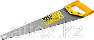 Ножовка ударопрочная (пила) STAYER ТАЙГА-5 500 мм, 5 TPI, быстрый рез поперек волокон, для крупных и  15061-50_z01