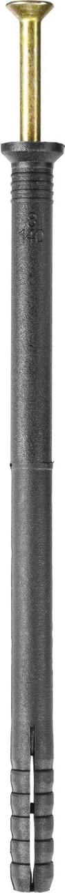 Дюбель-гвоздь полипропиленовый, потайный бортик, 8 x 140 мм, 50 шт, STAYER Master 30645-08-140