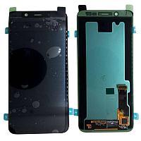 Дисплей Samsung Galaxy A6+ (2018) SM-A605 Сервис Оригинал с сенсором, цвет черный