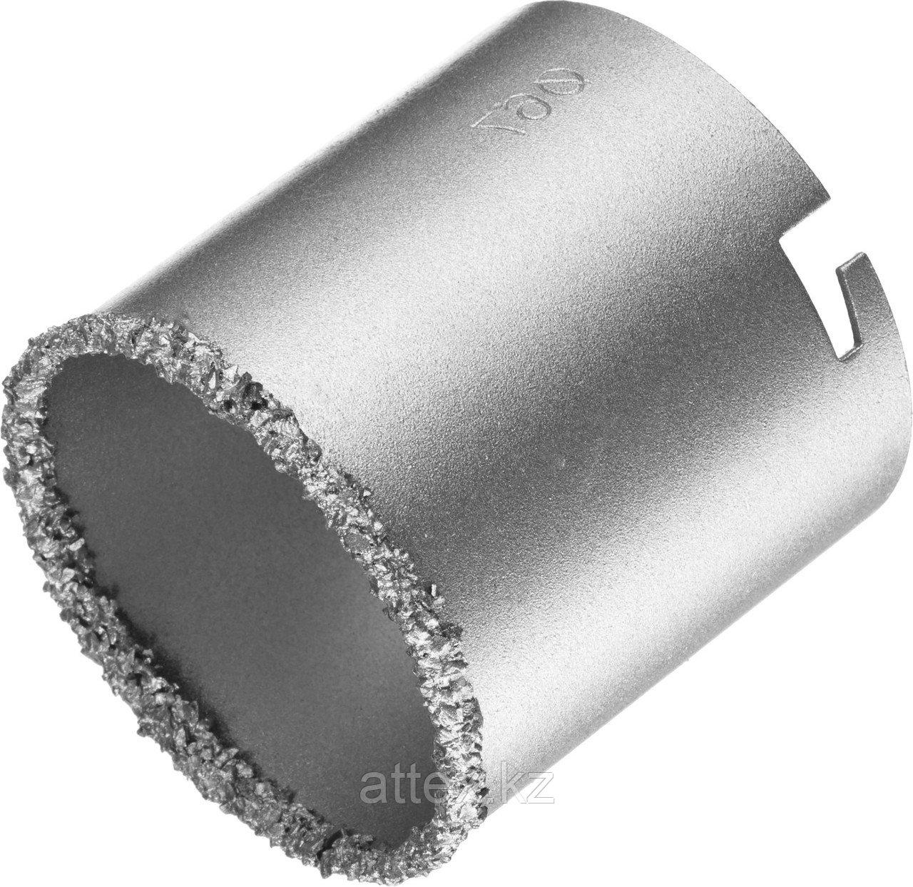 Коронка KRAFTOOL кольцевая с напылением из карбида вольфрама, 67мм  33401-67_z01