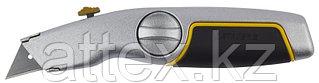 """Нож STAYER """"MASTER"""" металлический обрезиненный корпус, выдвижное лезвие 09144"""