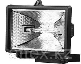 """Прожектор STAYER """"MASTER"""" MAXLight галогенный, с дугой крепления под установку, черный, 150Вт 57101-B"""