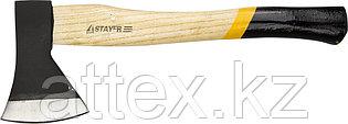 """Топор STAYER """"MASTER"""" кованый с деревянной рукояткой, 0,6кг 20610-06"""