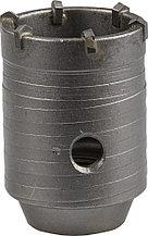 Коронка ЗУБР буровая кольцевая, по бетону, без державки, 50мм 29180-50