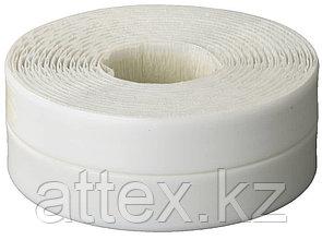 Лента бордюрная для ванн и раковин, STAYER Profi 12341-20-20, самоклеящаяся, профиль L, цвет белый, 20 х 20мм х 3,35м