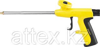 """Пистолет """"MAXGun"""" для монтажной пены, высокопрочный и легкий корпус, STAYER  06863_z01"""