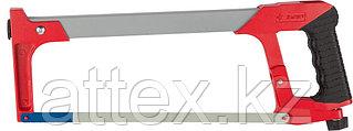 Ножовка по металлу ЗУБР МХ-450, металлическая обрезиненная ручка, натяжение 80 кг, 300 мм  15774_z01