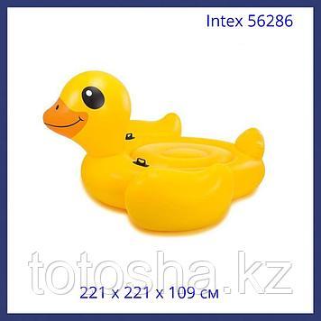 Intex Мега жёлтый утёнок