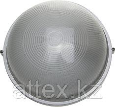 Светильник уличный СВЕТОЗАР влагозащищенный, круг, цвет белый, 100Вт SV-57253-W