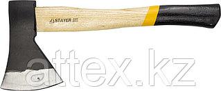 """Топор STAYER """"MASTER"""" кованый с деревянной рукояткой, 1,0кг 20610-10"""