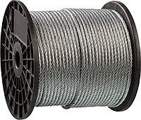 Трос стальной, оцинкованный, DIN 3055, d=1 мм, L=200 м, ЗУБР Профессионал 4-304110-01