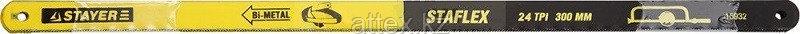"Полотно STAYER ""PROFI"" ""STAYER-FLEX"" по металлу, биметаллическое, 24TPI, 300 мм, 50 шт 15932-S50"