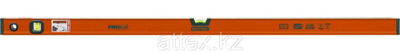 """Уровень KRAFTOOL """"KRAFT-MAX"""", особо усиленный, 2 ампулы, 2 фрезерованные базовые поверхности, 120см  34721-120_z01"""